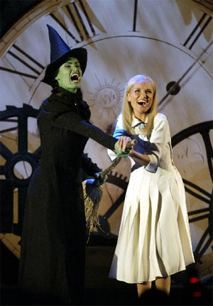 megan hilty leaving wicked